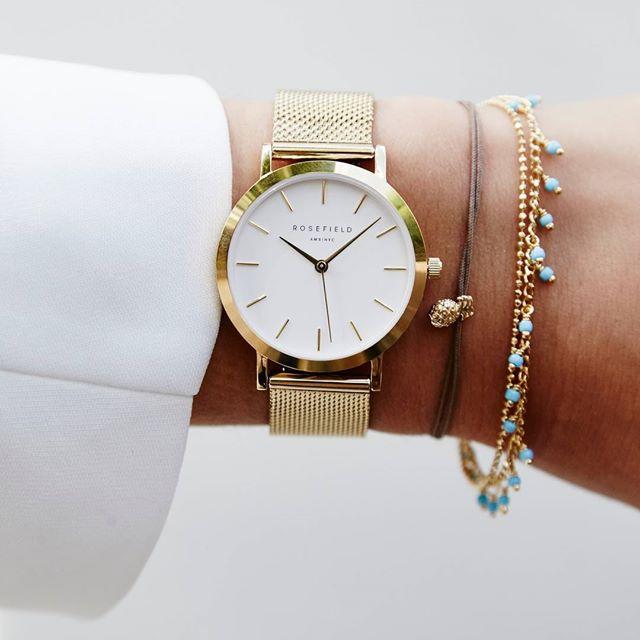 Nouveauté! les montres Rosefield